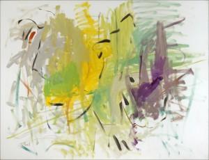 01.2013.2, 2013 - Huile sur toile 116 x 89 cm