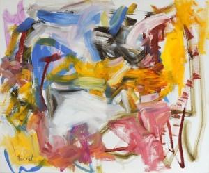 02.2013.2, 2013 - Huile sur toile 54 x 65 cm