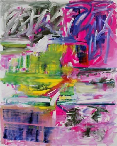 Sans Titre 31, 2013 - Huile sur toile 250 x 200 cm