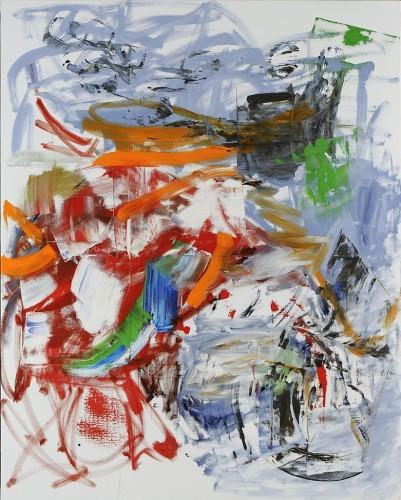 Sans Titre 36, 2013 - Huile sur toile 250 x 200 cm