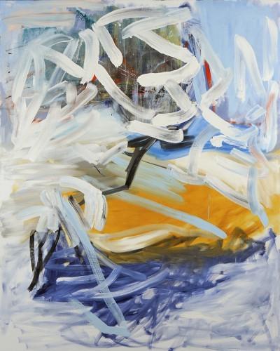 Sans Titre 38, 2013 - Huile sur toile 250 x 200 cm
