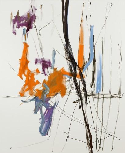 Sans Titre 42, 2013 - Huile sur toile 200 x 165 cm