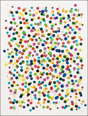 Sans titre 2, 2012 - Aquarelle sur papier 76 x 61 cm