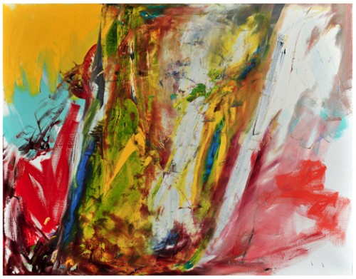 Sans titre II, 2009 - Huile sur toile 97 x 130 cm
