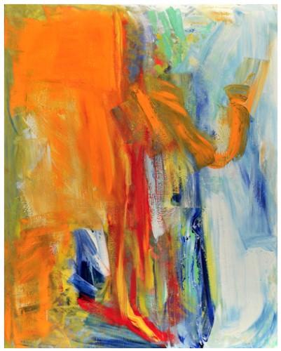 Sans titre V, 2011 - Huile sur toile 162 x 130 cm