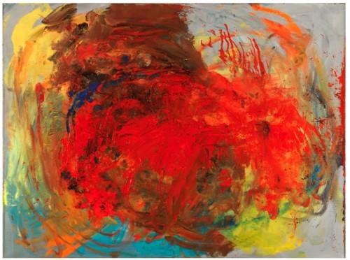 Sans titre VII, 2011 - Huile sur toile 97 x 130 cm
