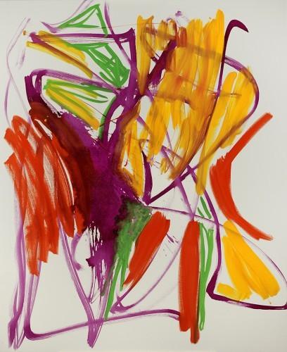 Sans titre XV, 2012 - Huile sur toile 200 x 164  cm