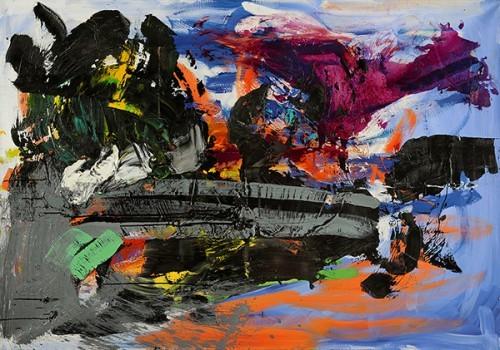 USA, 2012 - Huile sur toile 113 x 161 cm