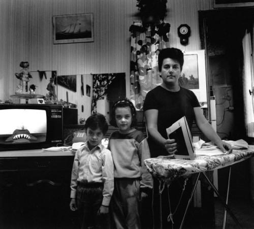 Rue St Martin 75004, 1986 - Tirage gélatino-argentique  30 x 33 cm ou 50 x 55,5 cm 15 exemplaires