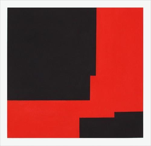 X-03-2013 - Pastel sur papier 56 x 56 cm