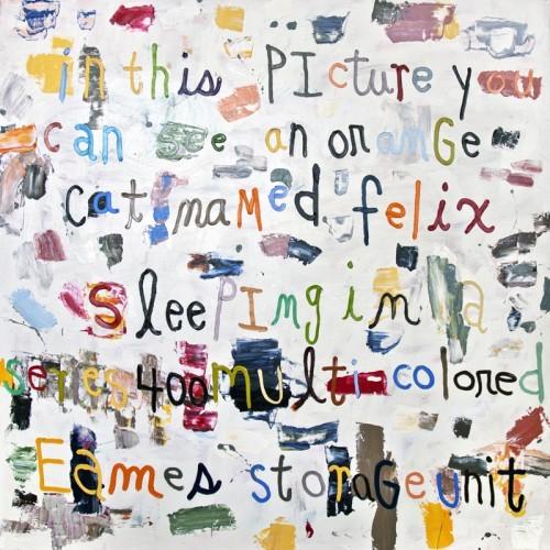 Felix - 2013, huile sur toile, 120 x 120 cm