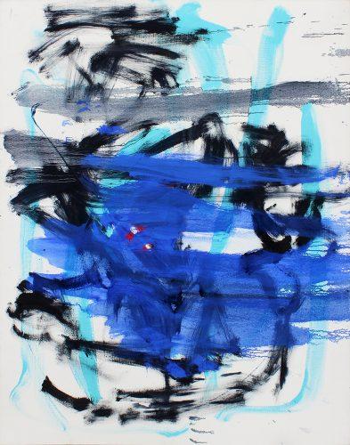 Sans titre 52 - 2019, huile sur toile, 163 x 130 cm