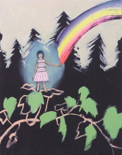 Sans titre, 2012 - 2012, huile sur toile, 27,5 x 22 cm