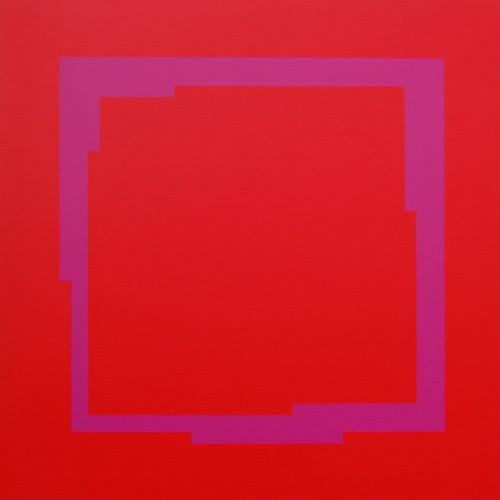 XXV - 2009, acrylique sur toile, 100 x 100 cm