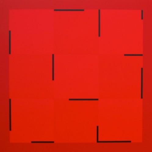 01 2013 I - 2013, acrylique sur toile, 100 x 100 cm