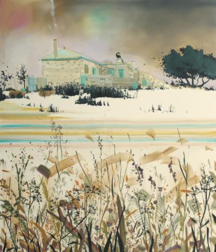 Je savais qu'on ne pourrait plus revenir, 2007 - 2007, huile sur toile, 170 x 145 cm