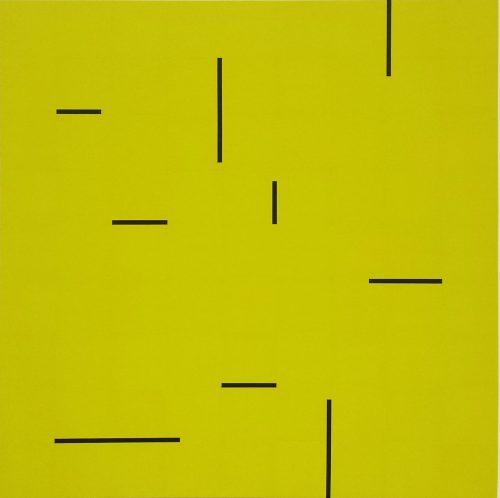 08 2013 VIII - 2013, acrylique sur toile, 100 x 100 cm