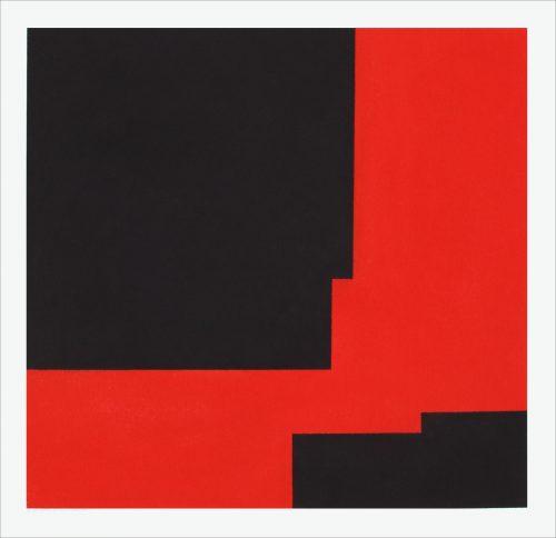 X-03-2013 - 2013, pastel on paper, 56 x 56 cm