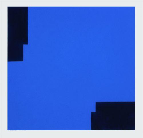 XII Mars 2013 - 2013, pastel on paper, 56 x 56 cm