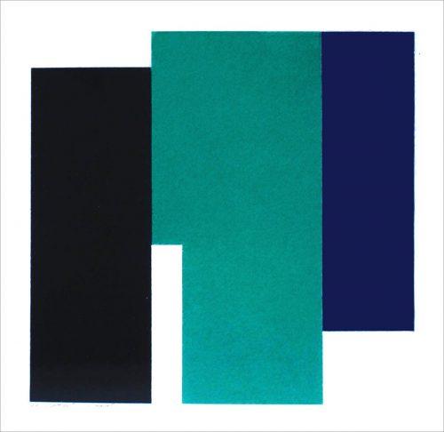 XXIII 2015 - 2015, pastel sur papier, 37,5 x 37,5 cm