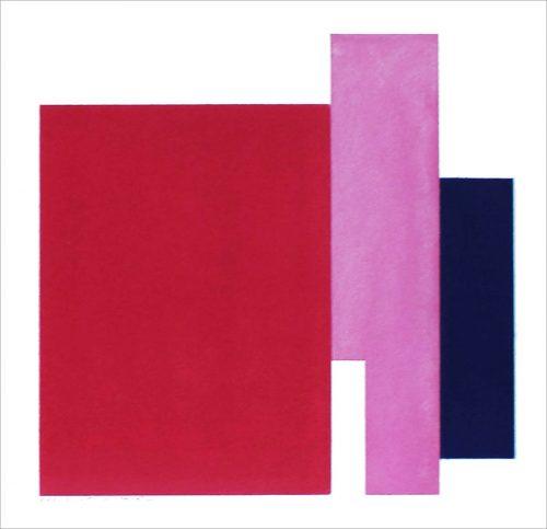 XXV 2015 - 2015, pastel sur papier, 37,5 x 37,5 cm