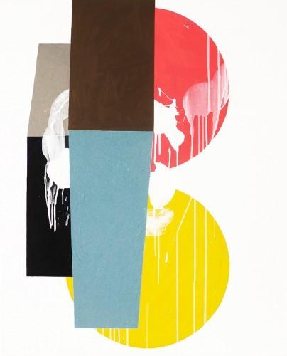 Charmed - 2015, mixte sur toile, 100 x 81 cm