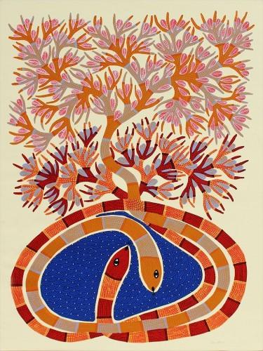 Sans titre, 2011 - Sans titre, 2011, Glycérophtalique sur toile  114 x 84 cm