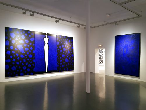 Exposition Sideral Blue - Centre d'Art Contemporain Bouvet Ladubay, 2018