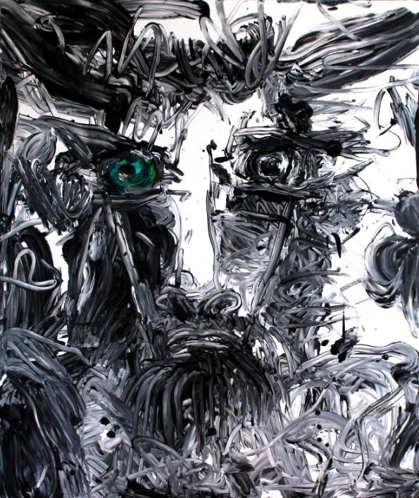 Minotaure œil bleu