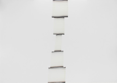 Sans titre - 2015, graphite, encre et gouache sur papier, 77 x 112 cm