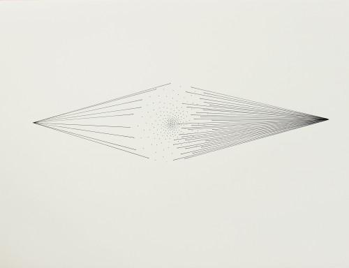 Sans titre - 2015, encre sur papier, 51 x 66 cm
