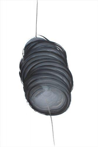 Sans titre - 2017, graphite et gouache sur papier, 77 x 112 cm
