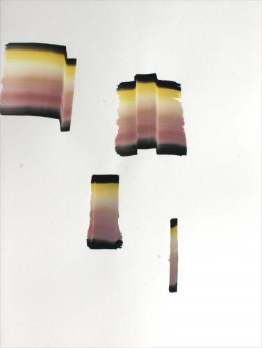 Sans titre - gouache sur papier, 76 x 56 cm