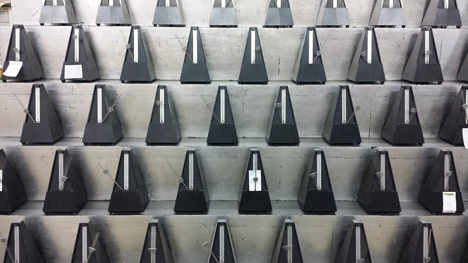 Poème symphonique pour 100 métronomes