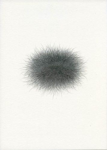 Z14_103 - 2014, Fusain sur papier, 29,7 x 21 cm