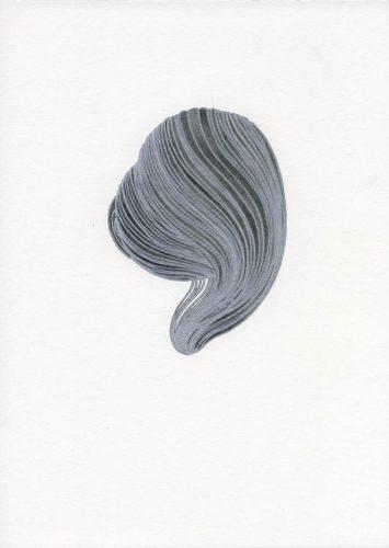 Z16_055 - 2016, Fusain sur papier, 29,7 x 21 cm