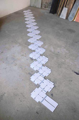 Sans titre  (49 carnets) - 2012, carnets