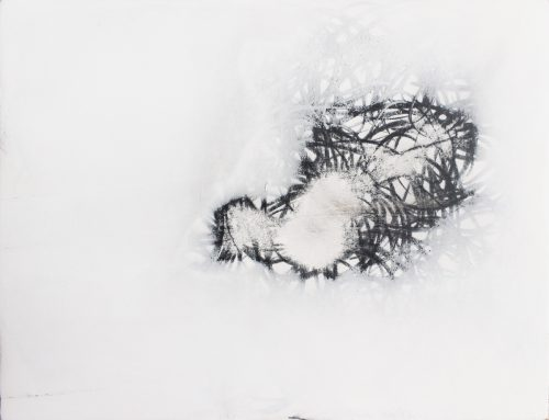 Untitled - 2016, plywood, coating, graphite, 27 x 36 x 2 cm
