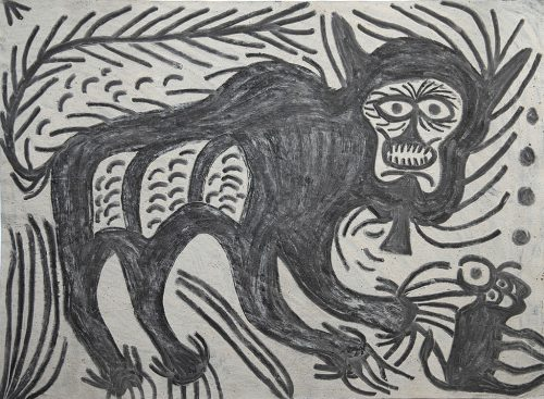 Hazaribag Malo Devi - Sans titre, 2008, couleurs naturelles sur papier,  55 x 74 cm