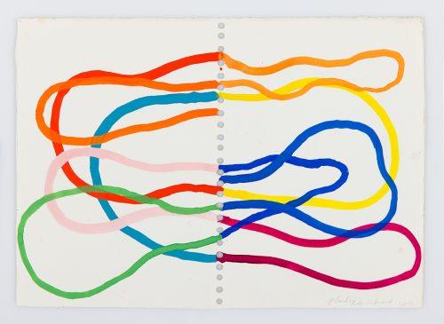 PR-G-2002 - 2015, gouache sur papier, 27 x 37 cm