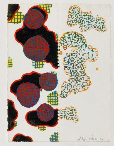 PR-G-2005 - 2005, gouache sur papier, 38 x 28 cm