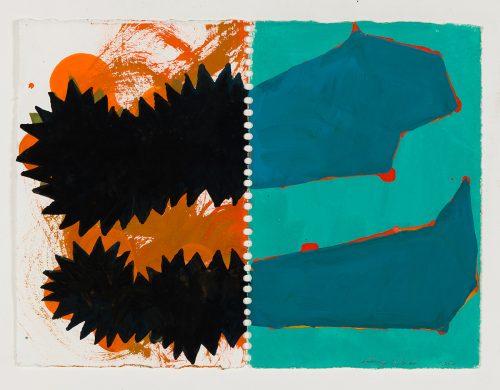 PR-G-2007- - 2007, gouache sur papier, 28 x 38 cm