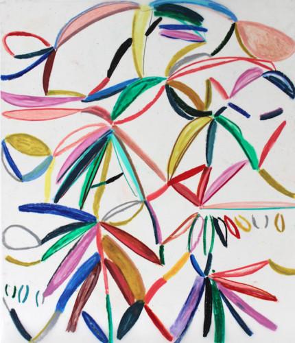 Capture d'écran 2021-08-28 à 17.37.15 - 2020, pastel gras sur papier calque, 144 x 121 cm