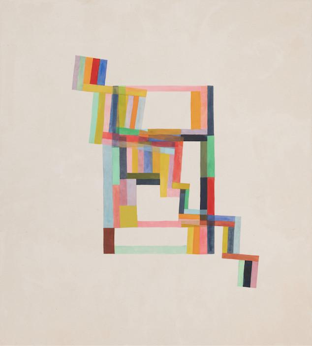 2020, mixte sur toile, 152,5 x 137 cm