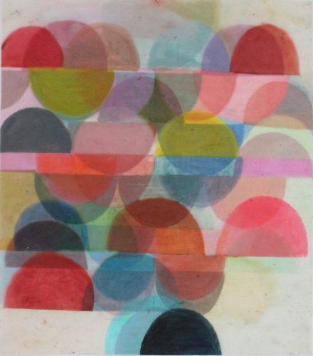 VFL 6 - 2018, pastel gras sur papier calque, 52,2 x 44,8 cm