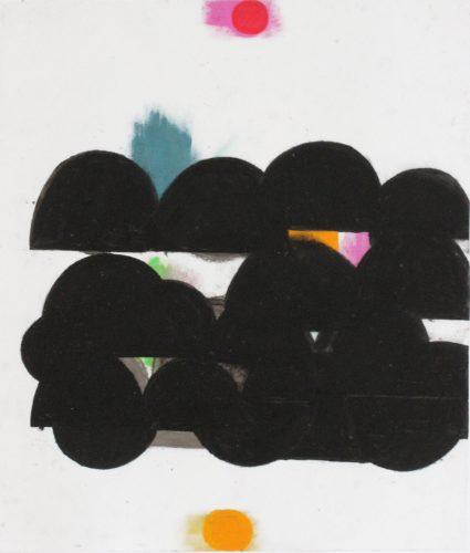 VFL 7 - 2018, pastel gras sur papier calque,  54 x  46,5 cm