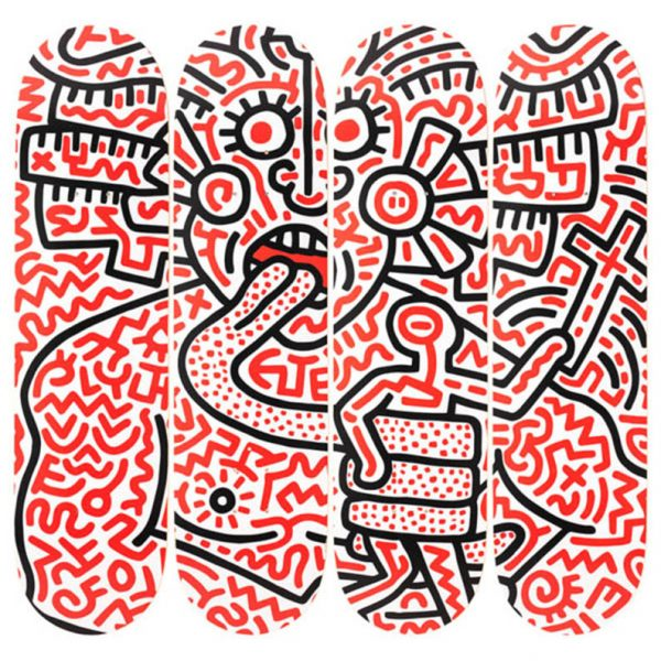Keith Haring - Man and Medusa