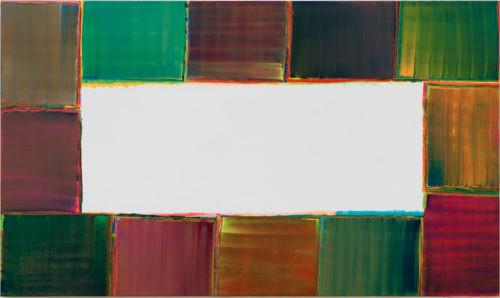 Sans titre - 2016, huile sur toile, 160 x 270 cm