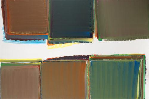 Sans titre - 2014, huile sur toile, 130 x 195 cm