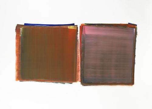 Sans titre - 2014, huile sur toile, 115 x 162 cm